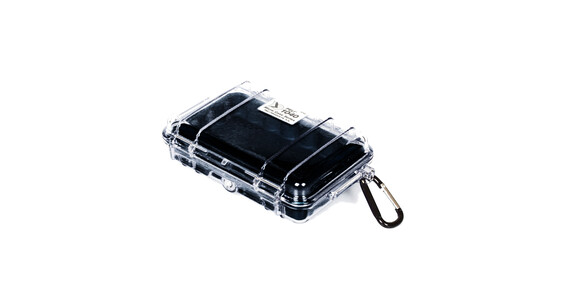 Peli MicroCase 1040 - Cajas de camping - negro/transparente